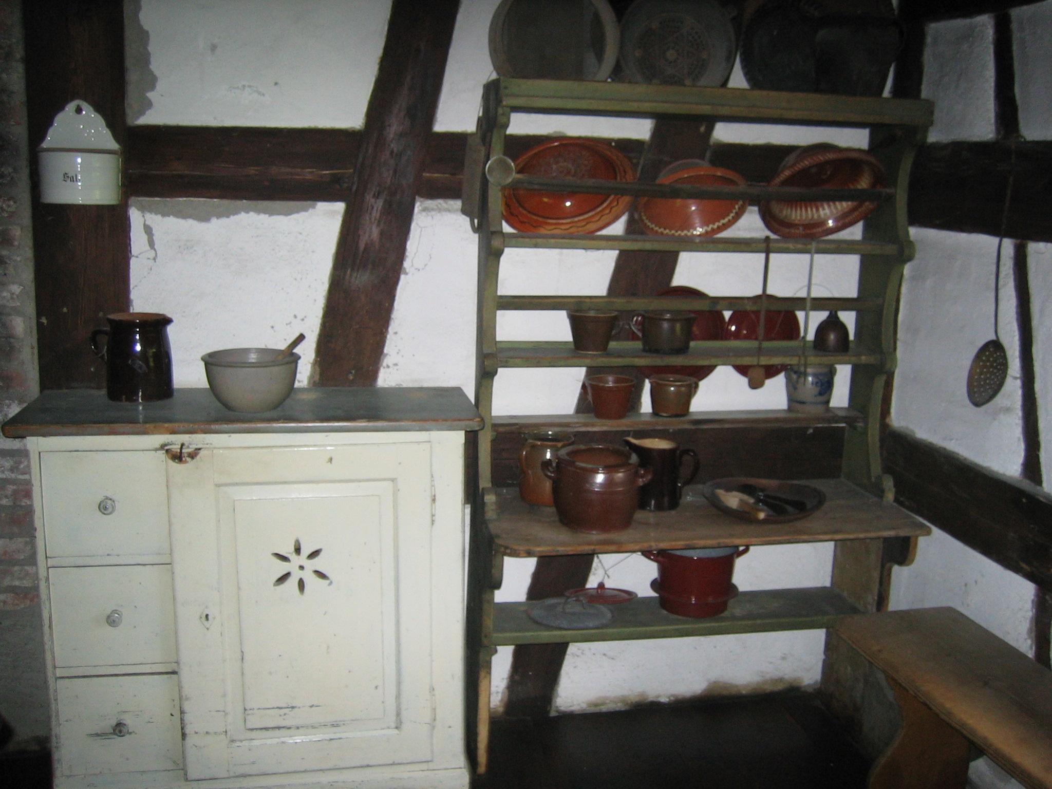 Schränke Bauernküche  Kueche #1: schraenke bauernkueche