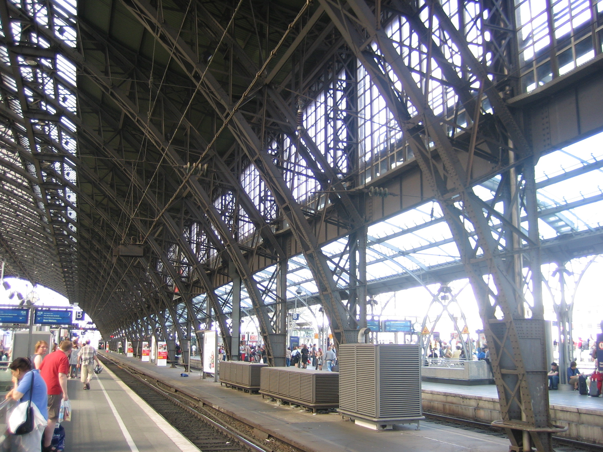 Kölner Bahnhof Innen