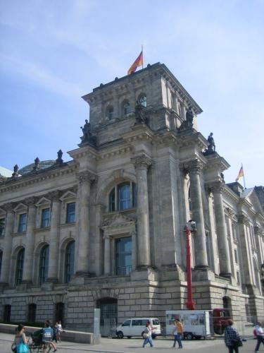 Eckturm beim Reichstagsgebäude