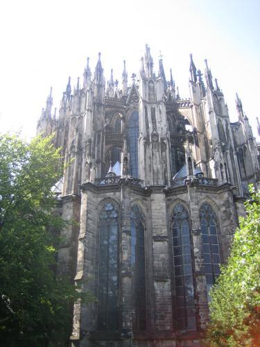 Teil des Dom in Köln