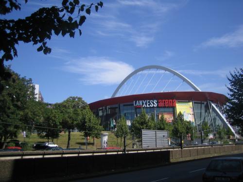 Lanxess Arena Fern