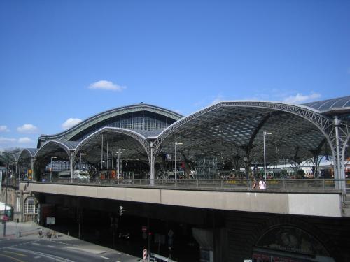 Kölner Bahnhof Aussen