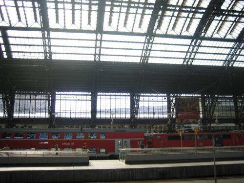 Kölner Bahnhof Bahn