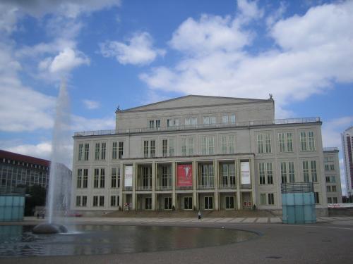 Leipzig Impression Gebäude